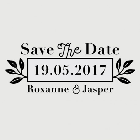tampon save the date jasper