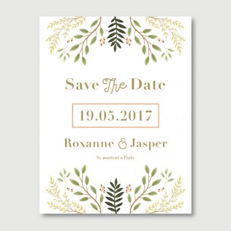 save the date jasper