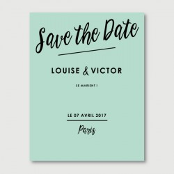 victor save the date