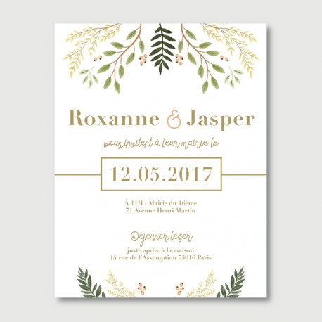 invitation secondaire jasper