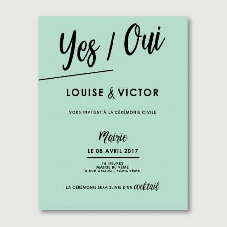 invitation secondaire victor