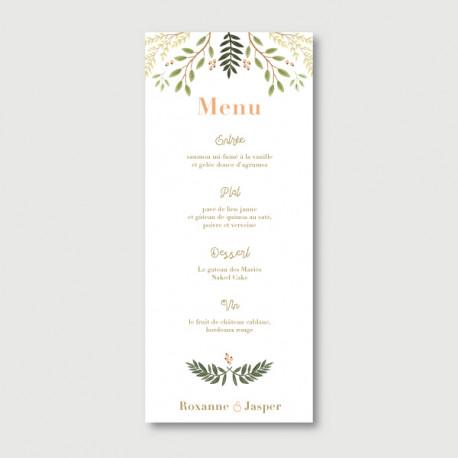 jasper menu