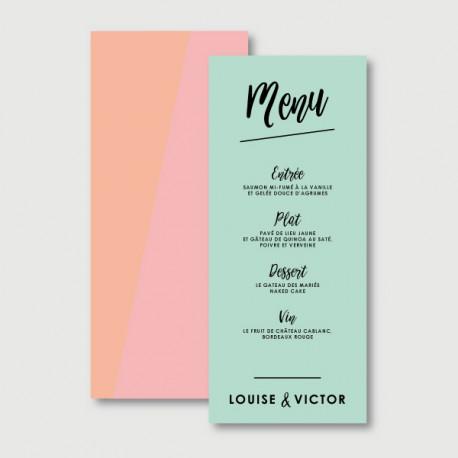 victor menu