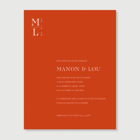 invitation secondaire Lou