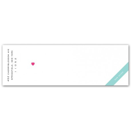 truluv mailing label pink & pool